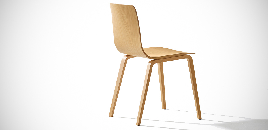 Wooden Chair Aava By Arper Italia Design Studio Antti