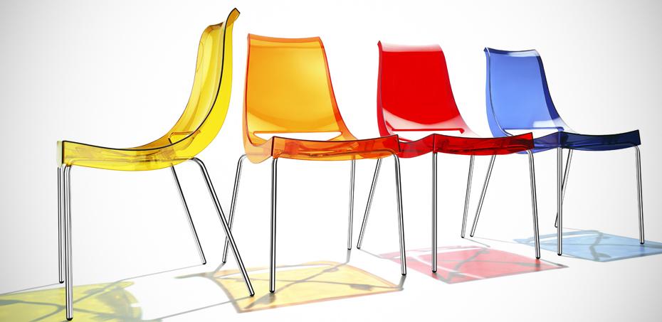 Chiacchiera Transparent Chair By Parri Design Marco Maran