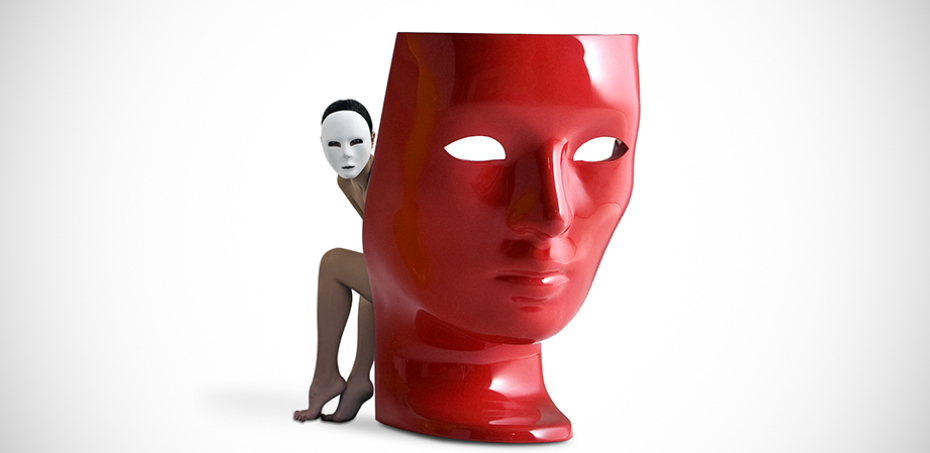 Nemo Mask Chair By Driade Store Design Fabio Novembre