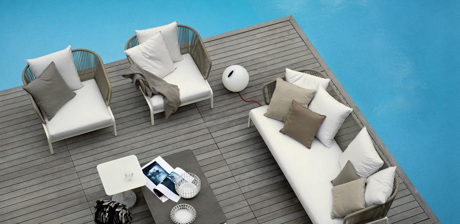 - Outdoor Sofas Spool By Roda, Design Rodolfo Dordoni
