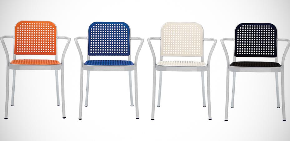 Peachy Silver Modern Chair By De Padova Machost Co Dining Chair Design Ideas Machostcouk