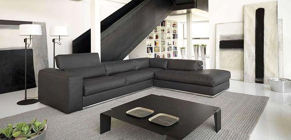 Italian leather sofas Cierre Imbottiti: buy online from Italy